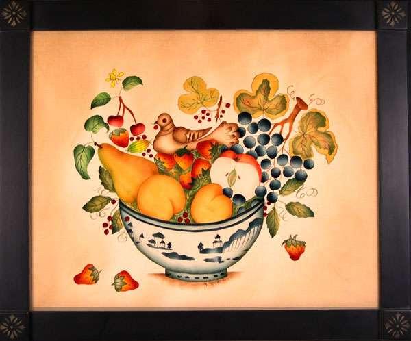 Theorem Painting Adaptation of David Ellenger Theorem Paintings by American Folk Artist Nancy Rosier of Williamsburg Virginia