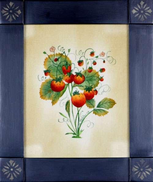 Wild Strawberries Theorem Painting by Nancy Rosier
