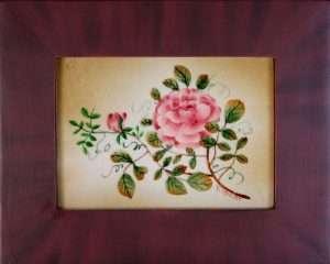 single rose branch - 261 - Theorem by Nancy Rosier